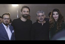 Uzair Zaheer Khan, Ali Noor and Hareem Farooq